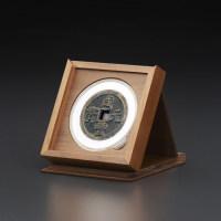 明式黑胡桃纯实木素面钱币收藏中匣(适用71圆盒)(MHB)