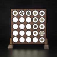 老钱庄52mm圆盒钱币展示插屏(CPA)
