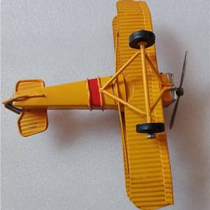 七十年代手工打造的铝质飞机模型